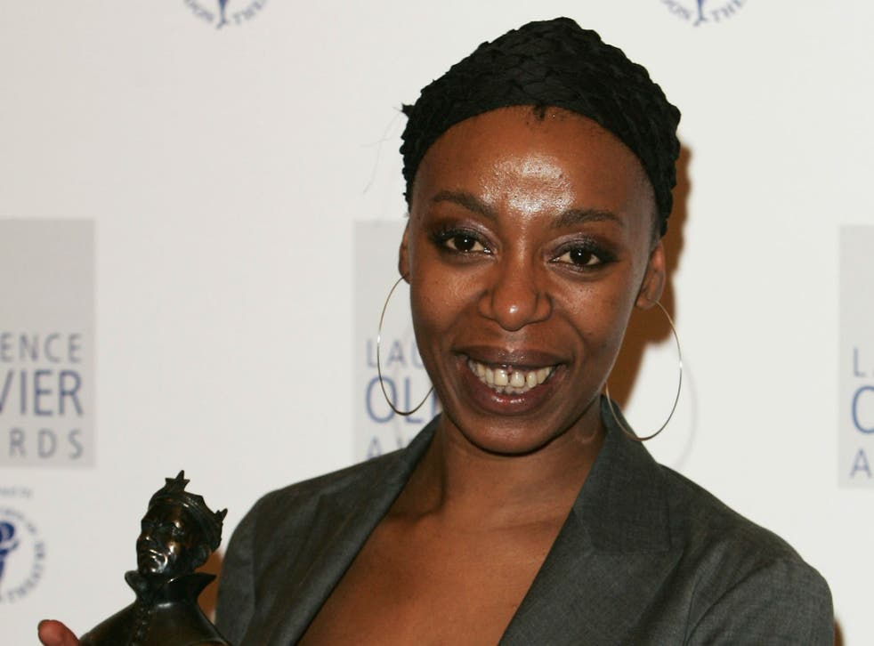 Noma Dumezweni plays author JK Rowling's character Hermione Granger in a stage adaptation of her works