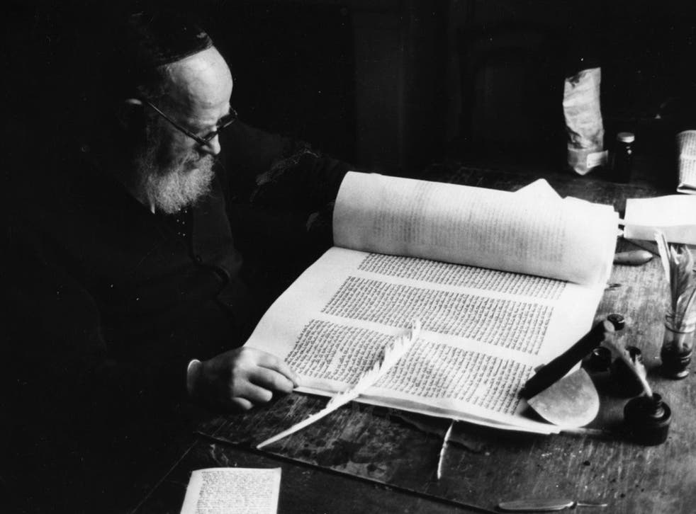 Orthodox divorces are granted by a Beth Din, a Jewish court of law, where a scribe writes the 'get', as delivered by the husband