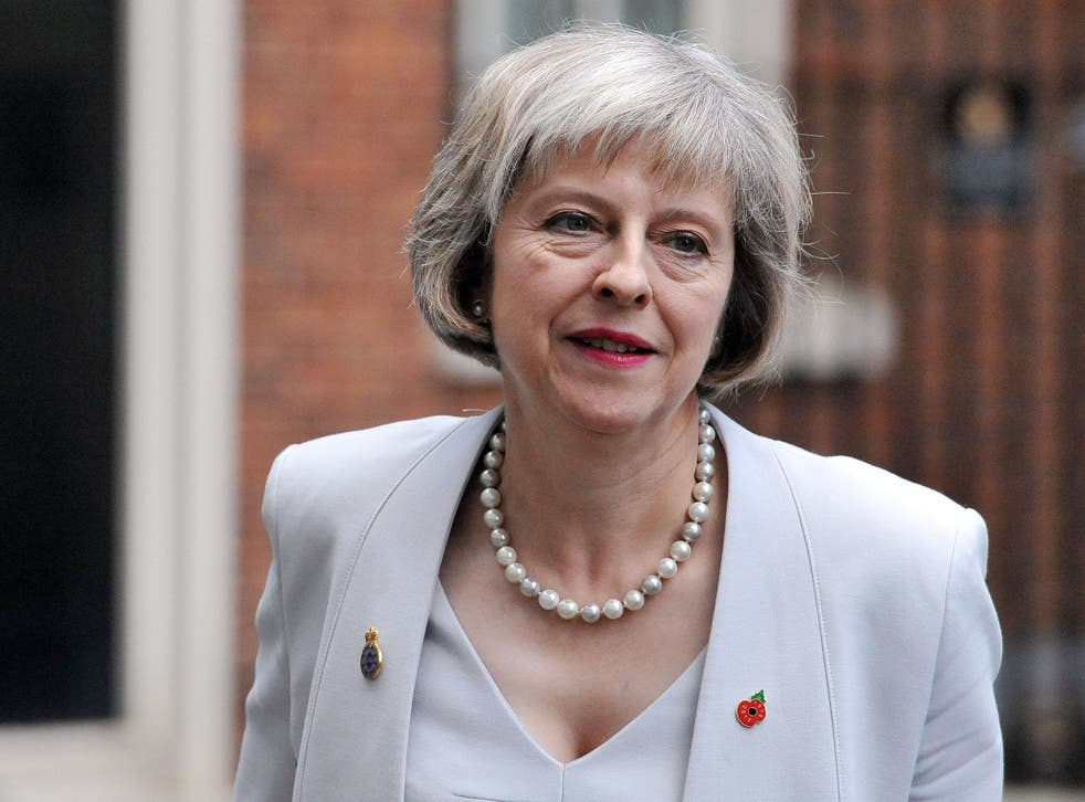 """Theresa May: 'Theresa May, the Home Secretary, argued: """"There should be no area of cyberspace which is a haven for those who seek to harm us to plot, poison minds and peddle hatred'"""