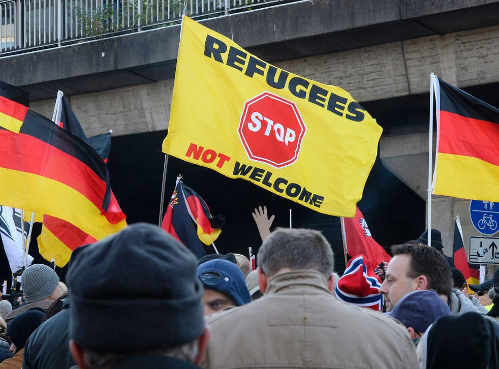 Far-right groups have seized on the rumours to fuel anti-immigration protests