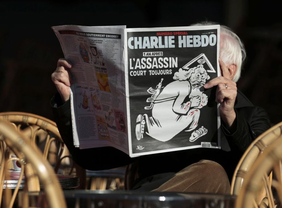Charlie Hebdo Faces Imminent Attack After Publishing Front Page Image Of Naked Muslims The Independent The Independent