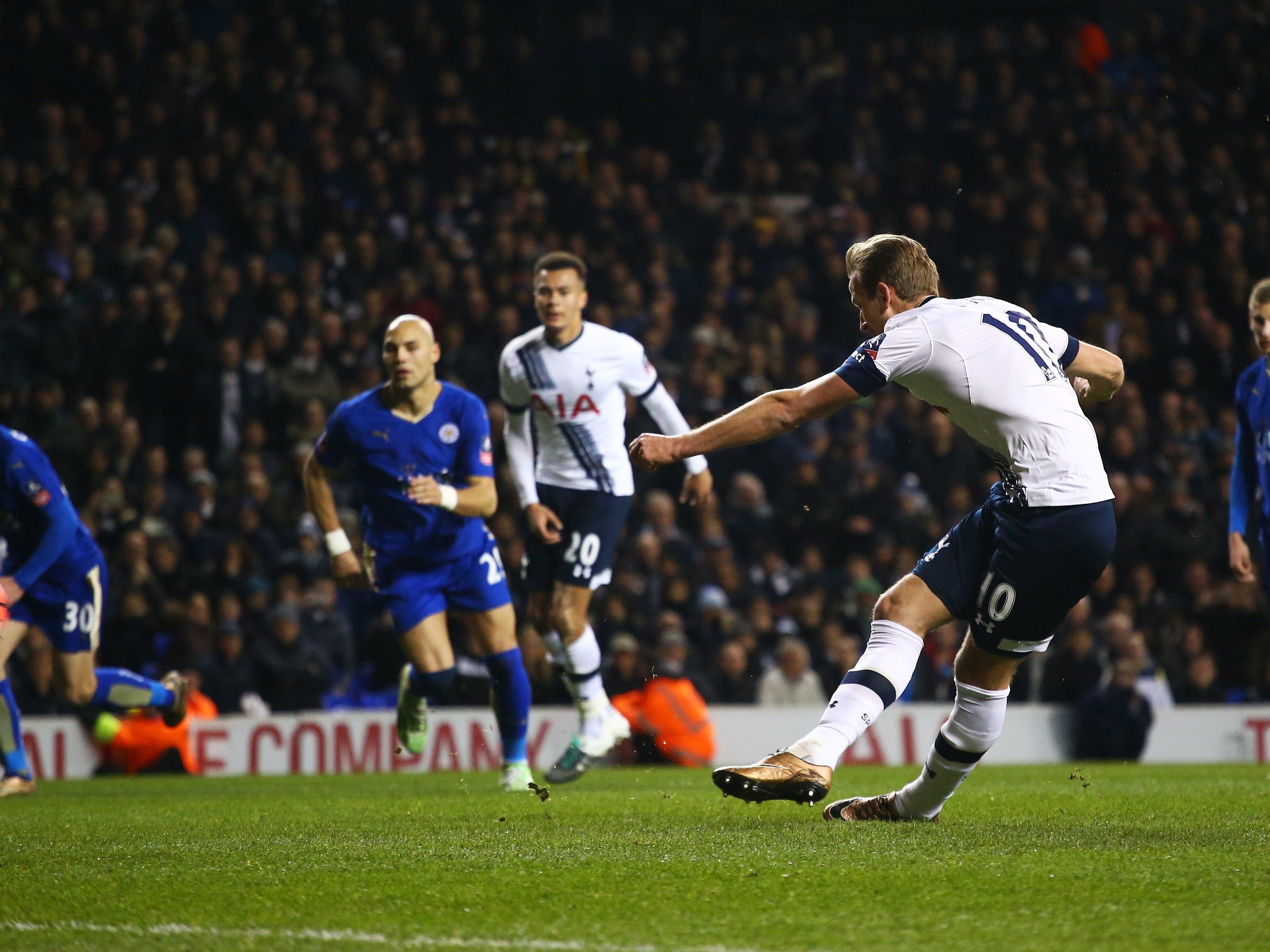 Tottenham Vs Leicester: Tottenham Vs Leicester City Match Report: Harry Kane