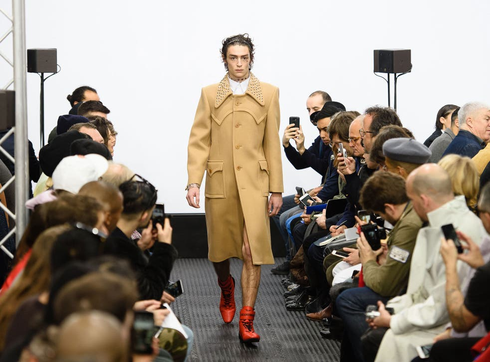 JW Anderson's camel coats were proof that he is remarkably skilled at creating wearable pieces