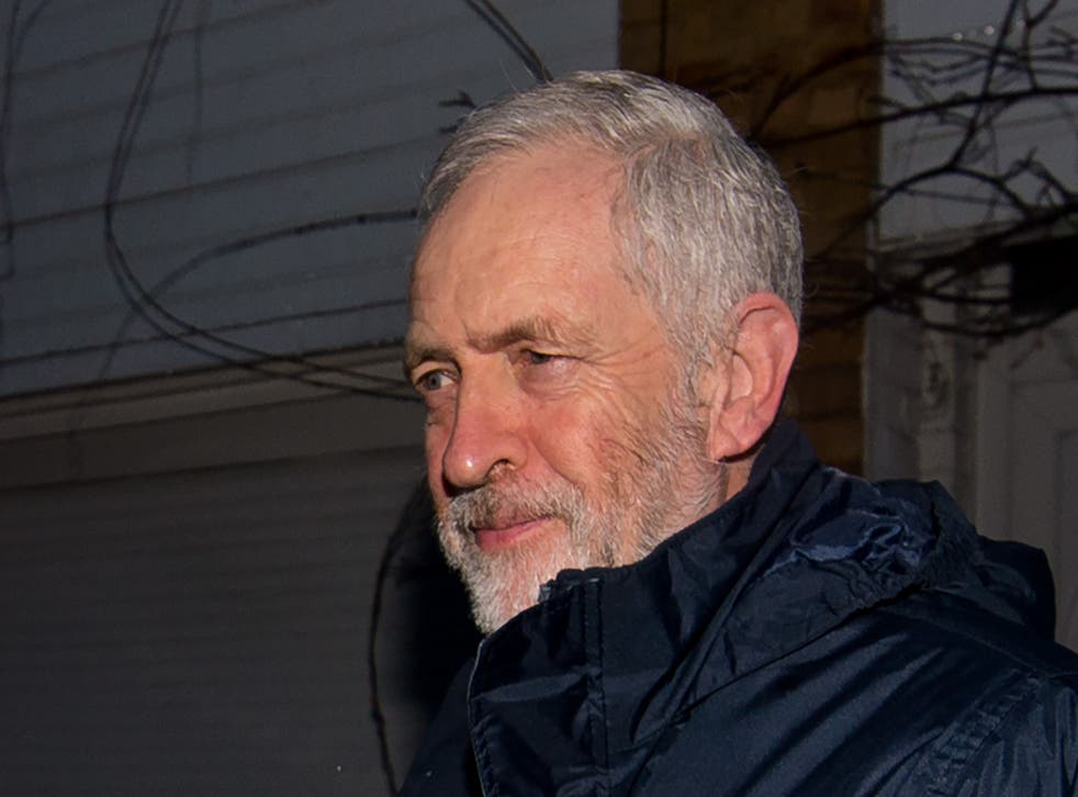 Corbyn's Twitter account appeared to have been hacked