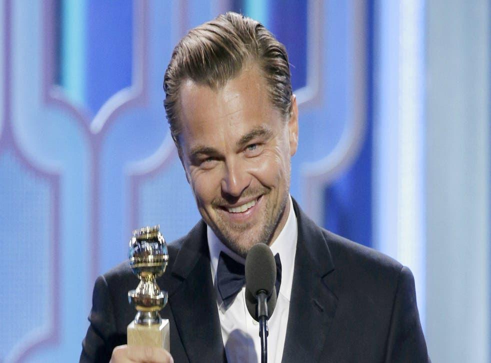 Leonardo DiCaprio won big for The Revenant.