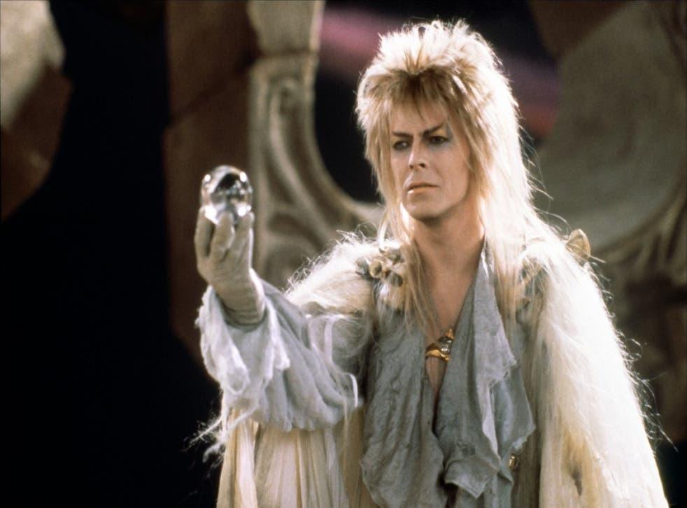 David Bowie in 1986 film, Labyrinth