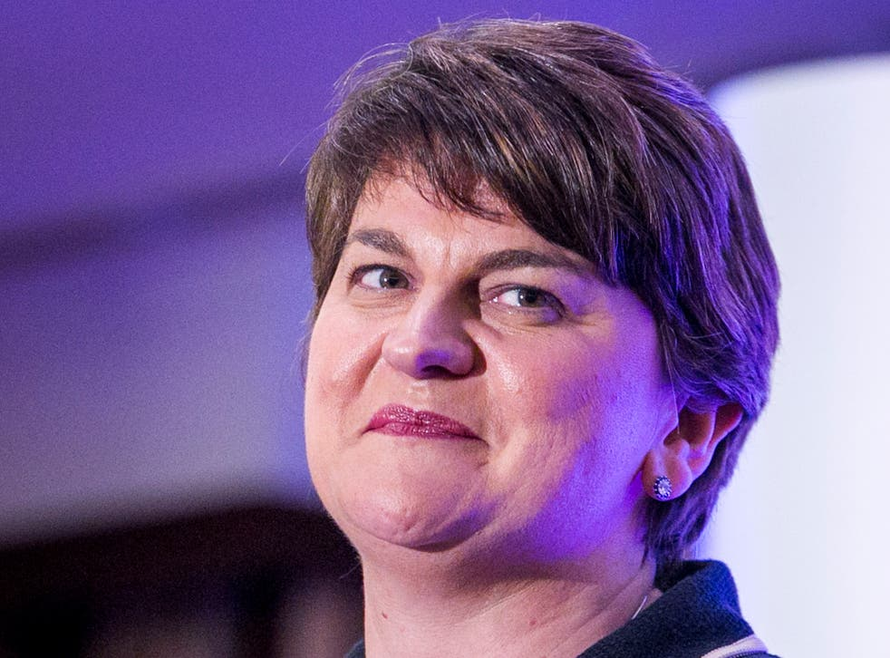 The transition of power has been smooth, with Mrs Foster facing no challengers within the DUP