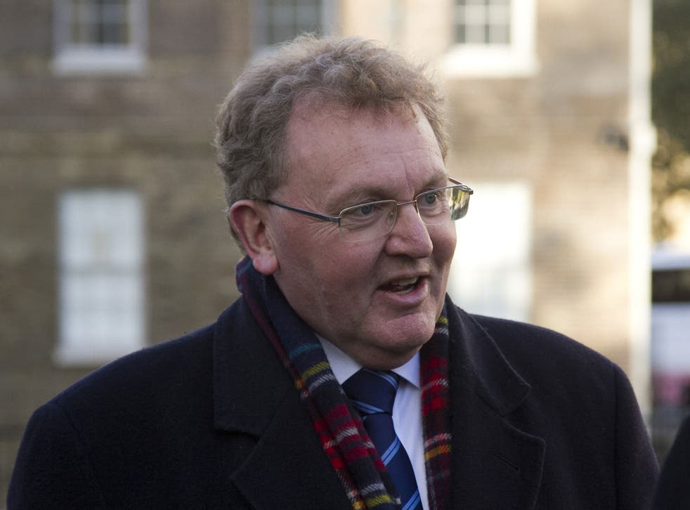 David Mundell, the Conservatives' only MP in Scotland