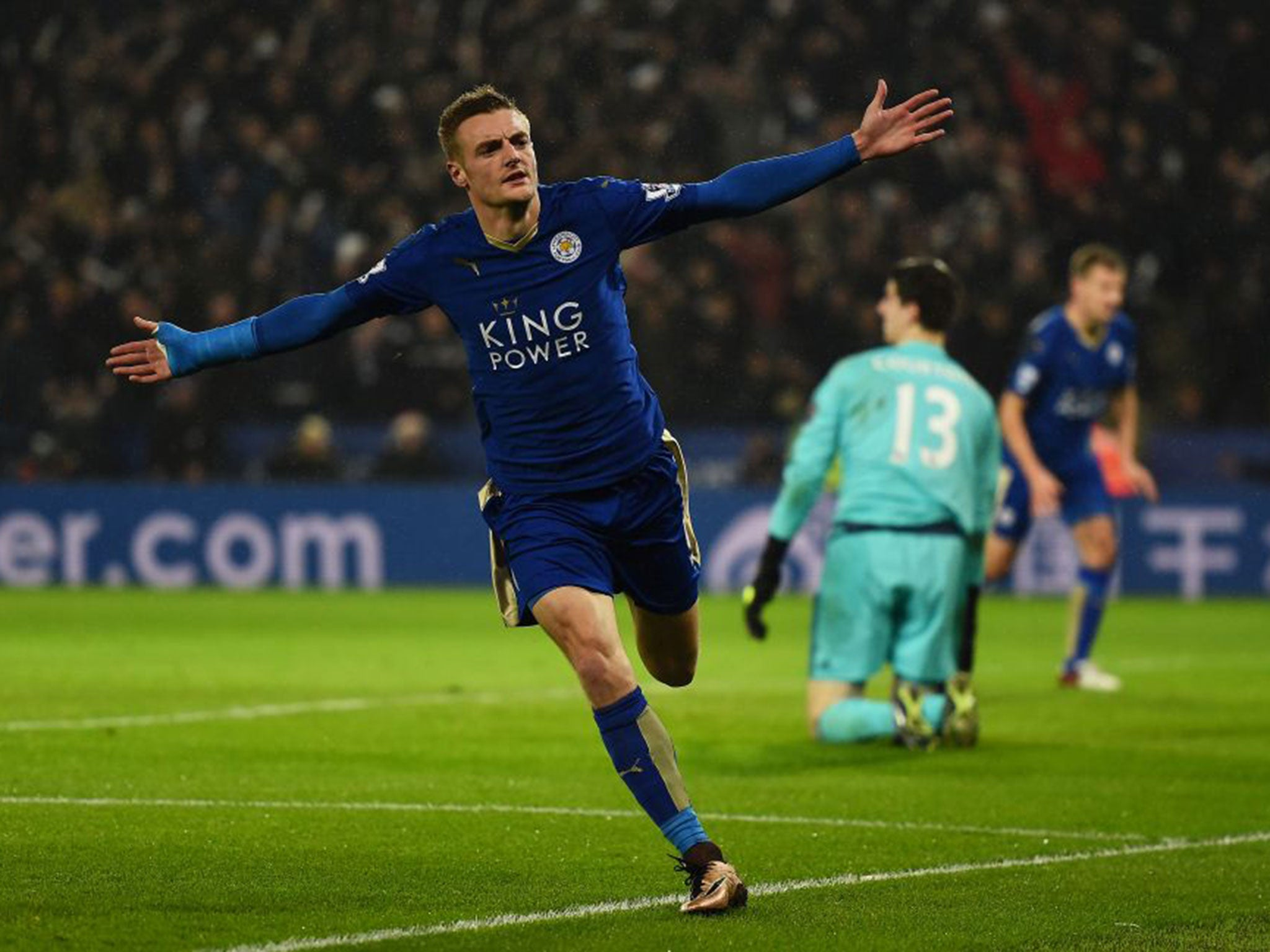 Jamie Vardy Leicester City insert £30m release clause into