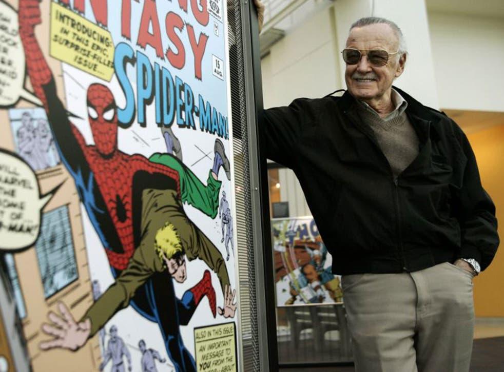 Stan Lee, creator of Spider-Man
