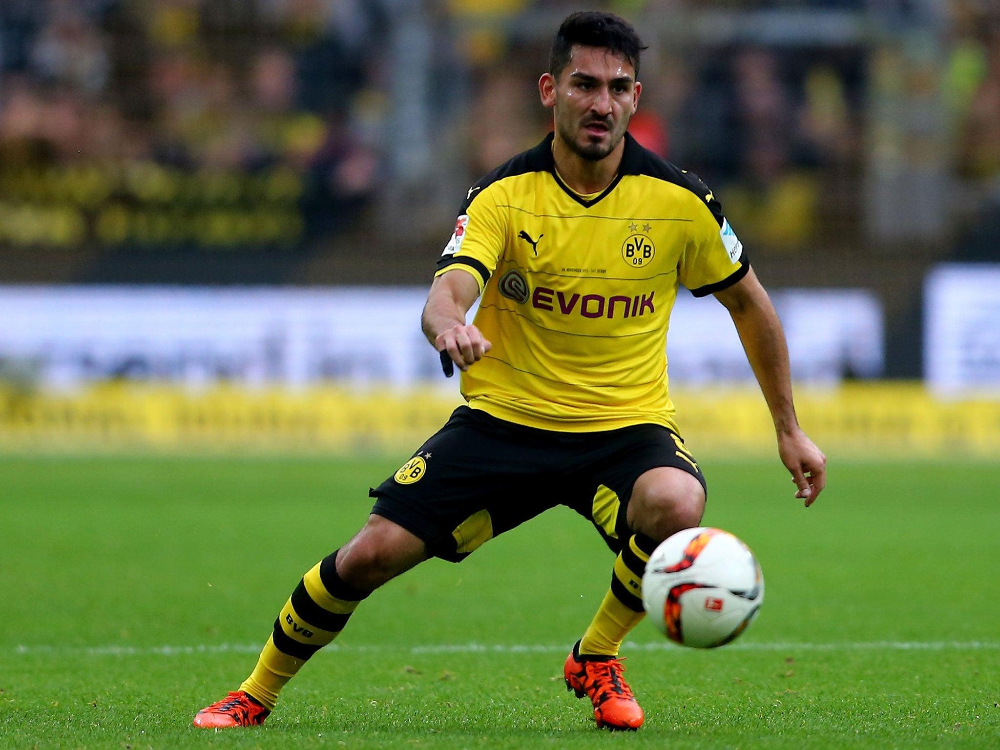 Ilkay Gundogan to Manchester City Borussia Dortmund midfielder on