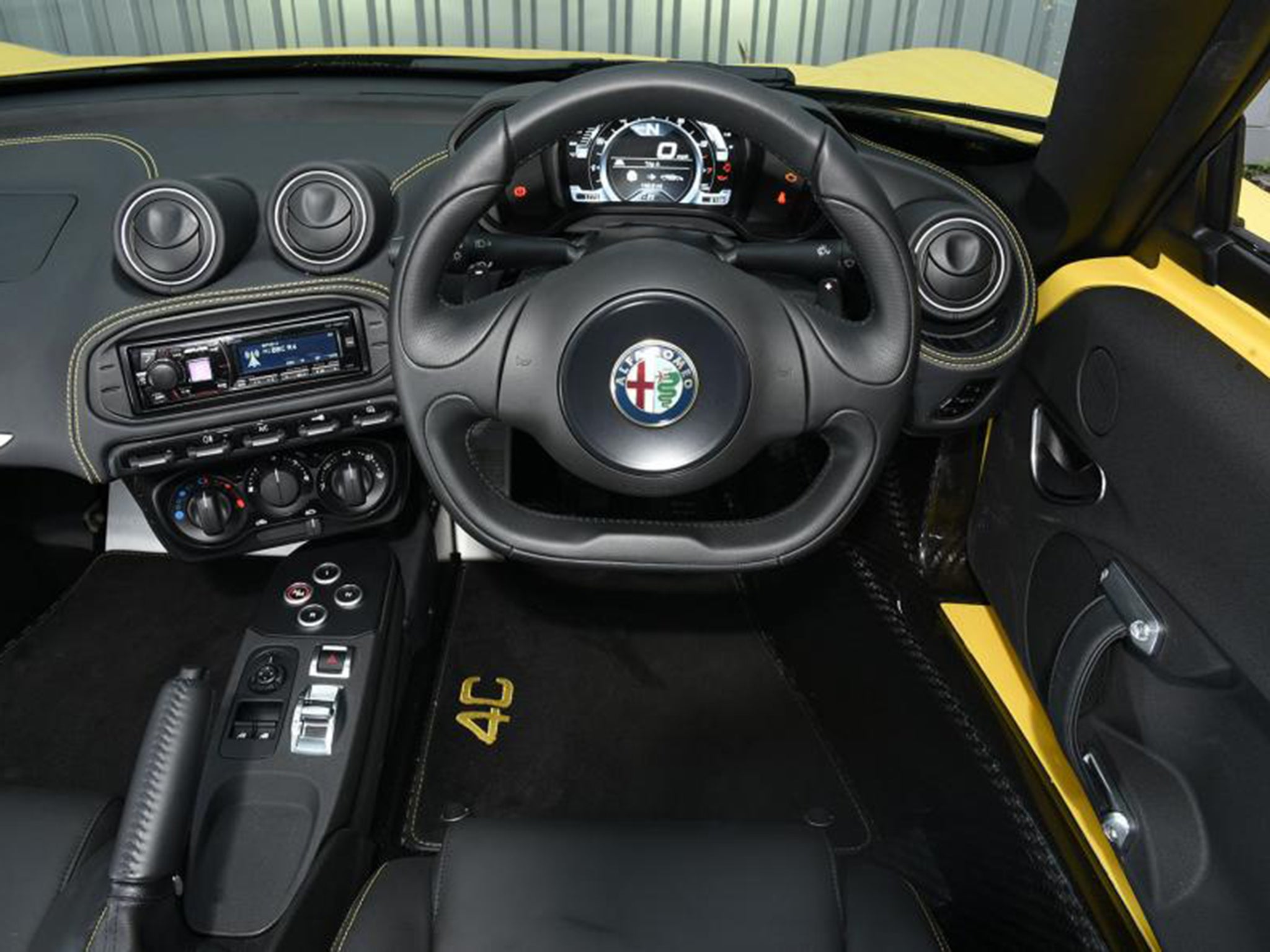 Alfa Romeo 4c Spider Car Review Flawed Steering Means It Cant An