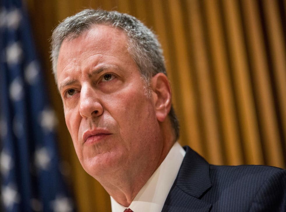 Bill de Blasio speaks out after the news of the gang rape