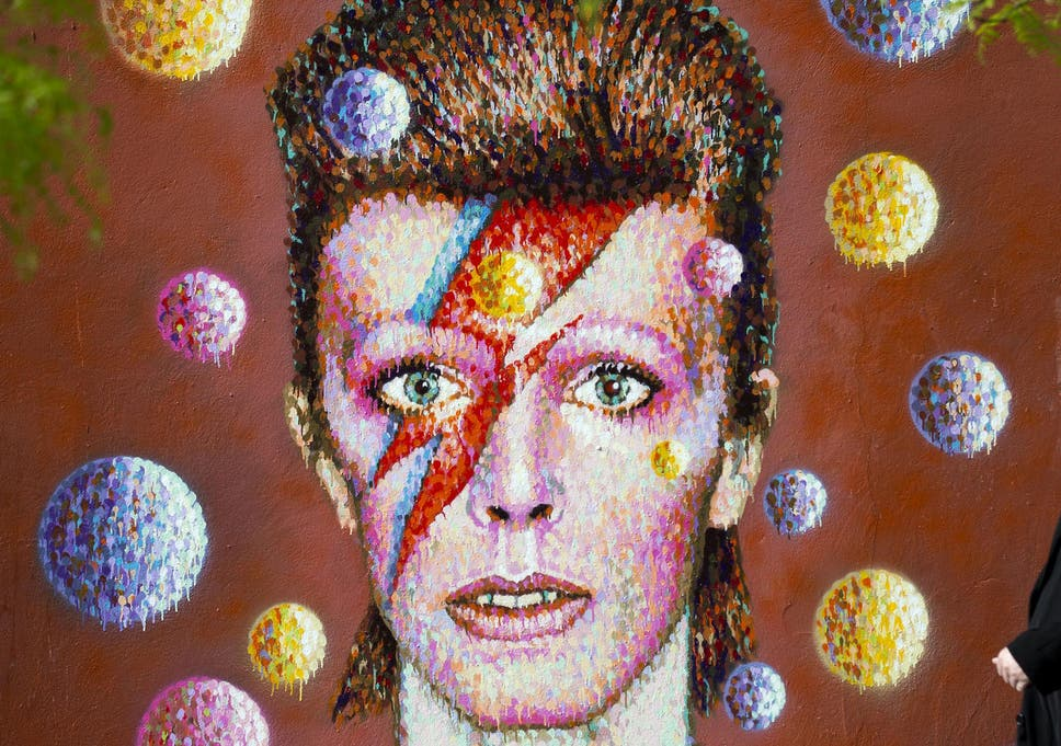 David Bowie On The Iconic Lightning Bolt From His Aladdin Sane Cover