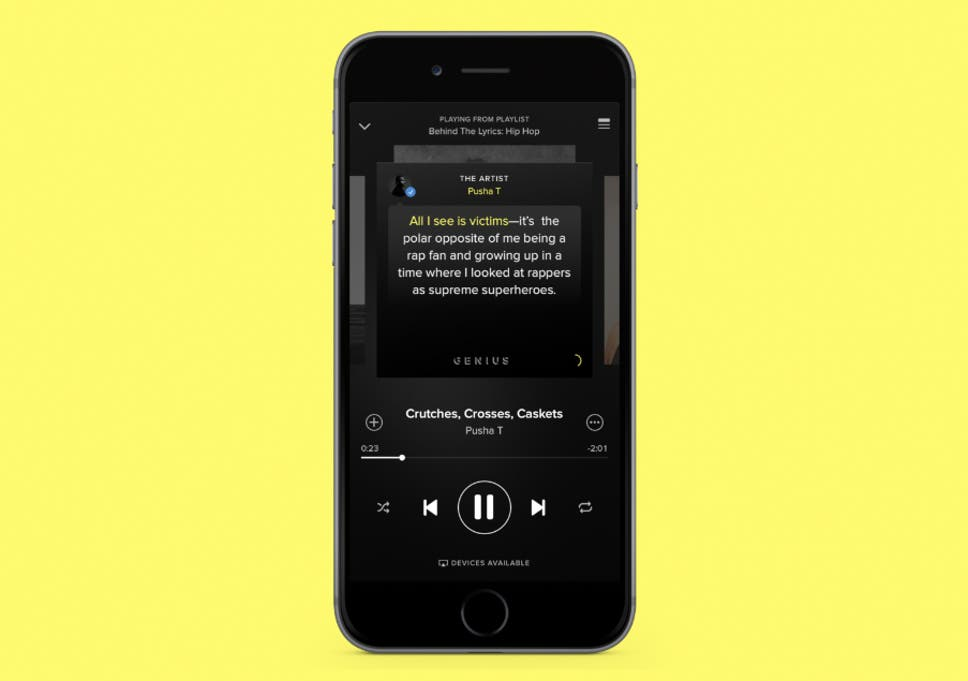 Spotify integrates Genius to help listeners go behind the