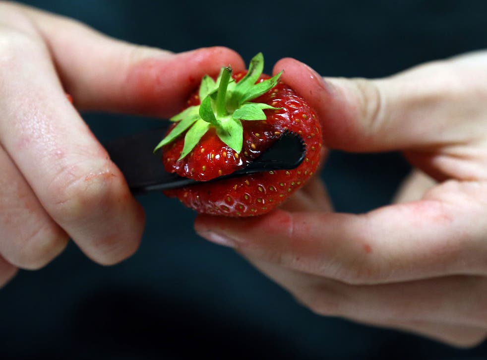 Wimbledon says the price of its strawberries and cream has been held for seven years. That could soon change