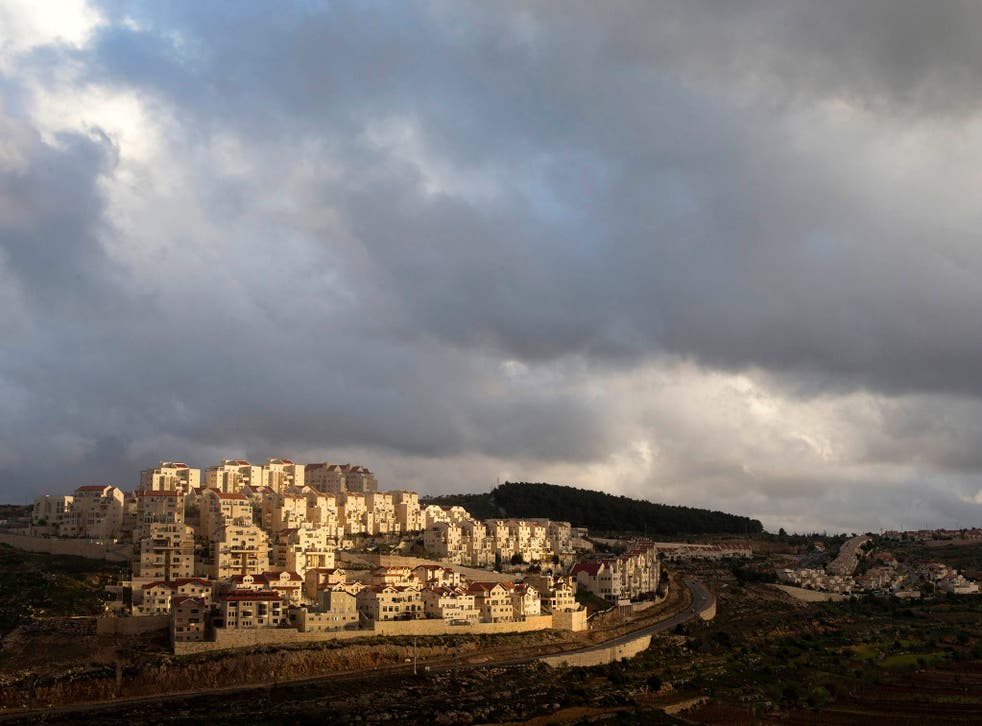 The West Bank Jewish settlement of Efrat