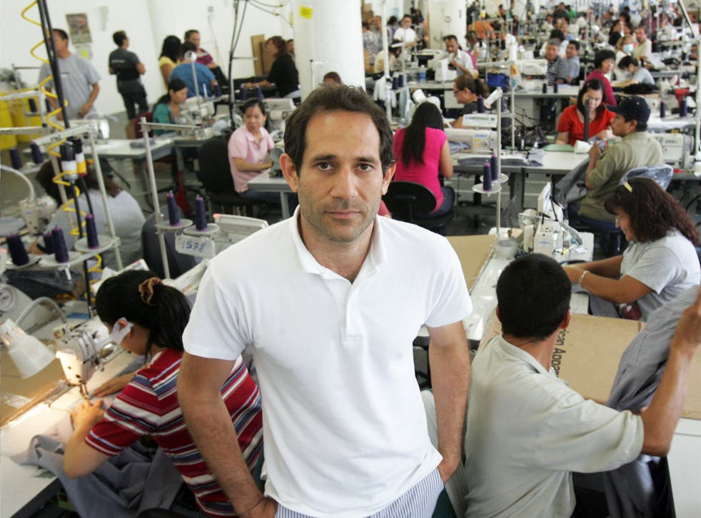 'Any financier looking for a great opportunity,' said one of Dov Charney's backers, 'would look to back him'