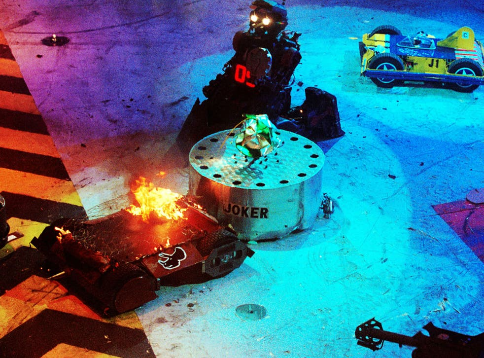 Robot Wars originally aired from 1998 until 2003