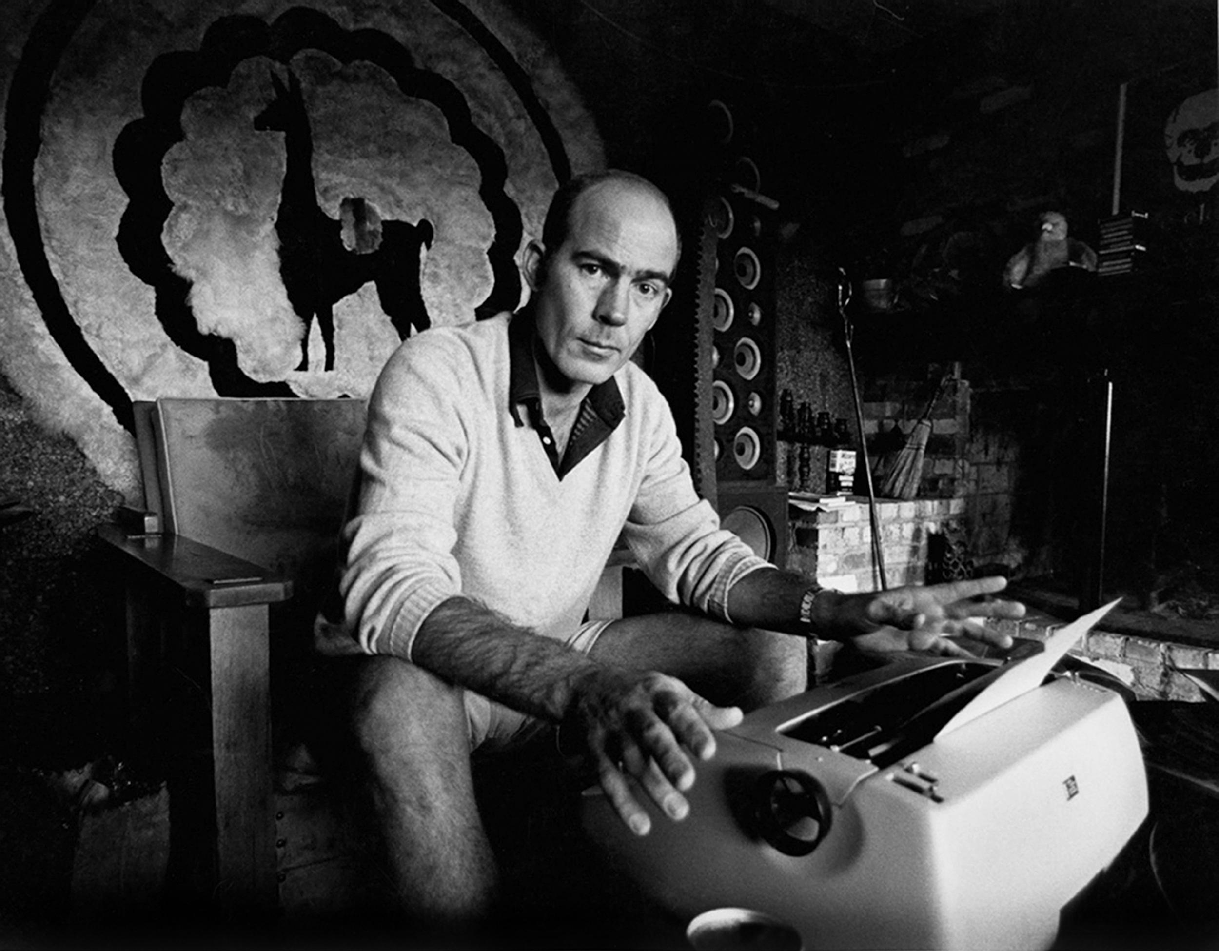 Hunter S Thompson did not suffer 'lame, half-mad bulls**t' copy gladly