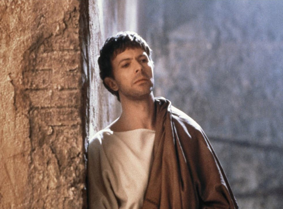 David Bowie as Pontius Pilate in The Last Temptation of Christ