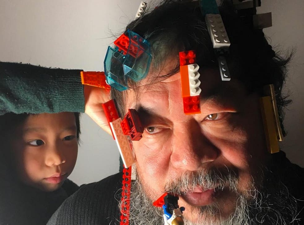 Artist and human rights activist Ai Weiwei.