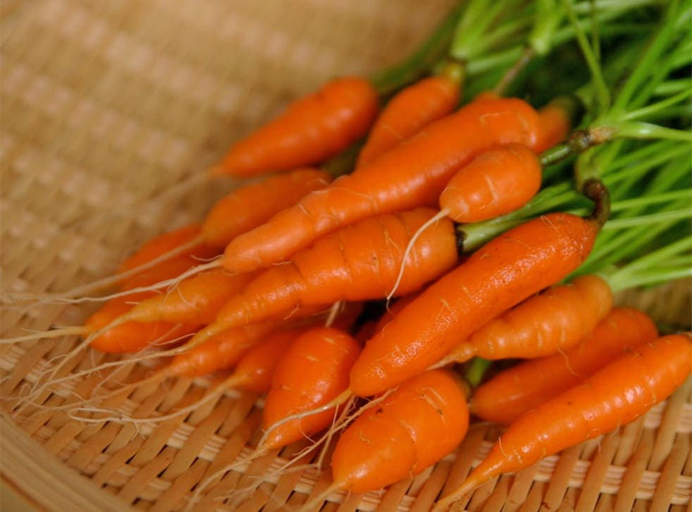 Baby carrots account for nearly 70 per cent of all carrot sales