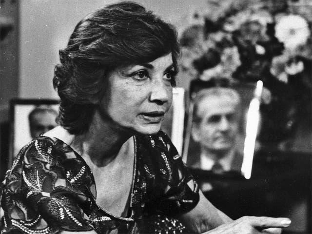 Princess Ashraf in 1980 on ABC-TV's 'Good Morning America'