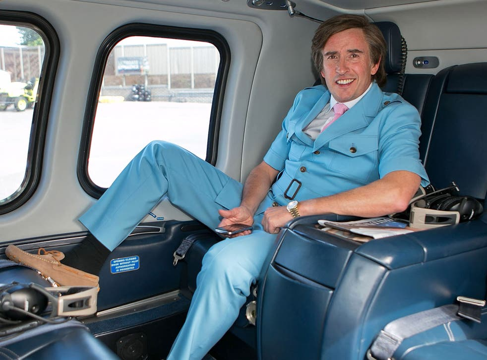 Steve Coogan's fictional broadcaster Alan Partridge is no stranger to the 'mid-life crisis'