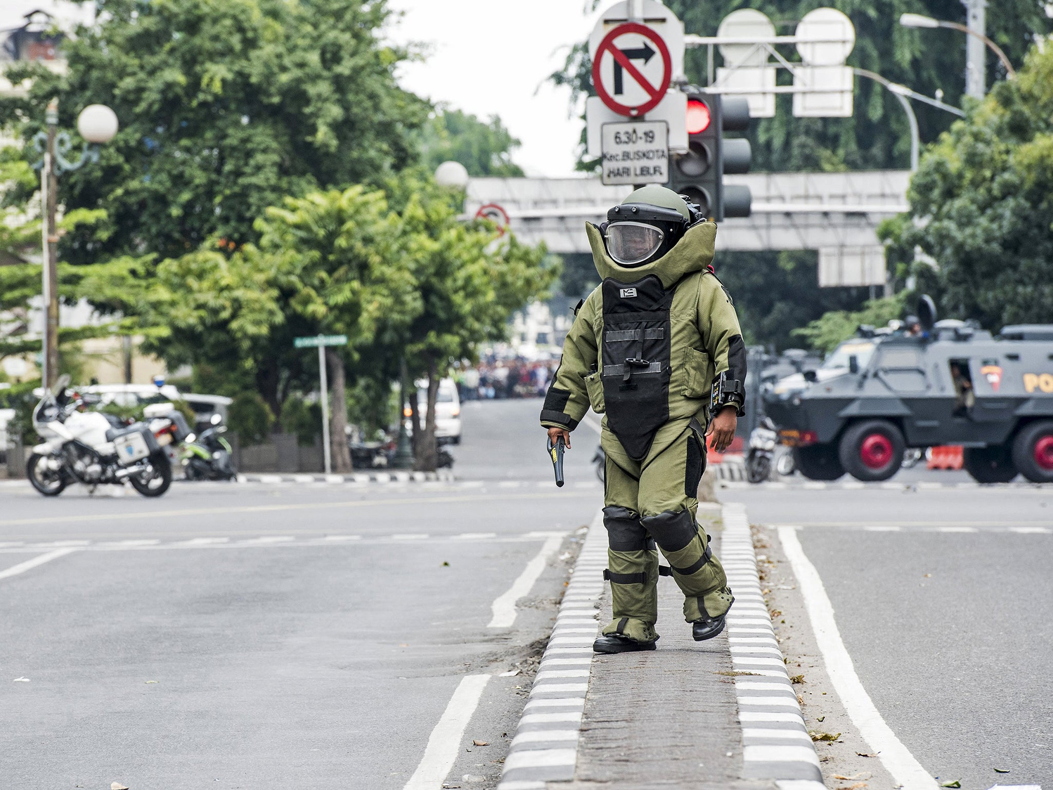 Jakarta attacks: Indonesians defy terror with powerful message on social media - 'we are not afraid'