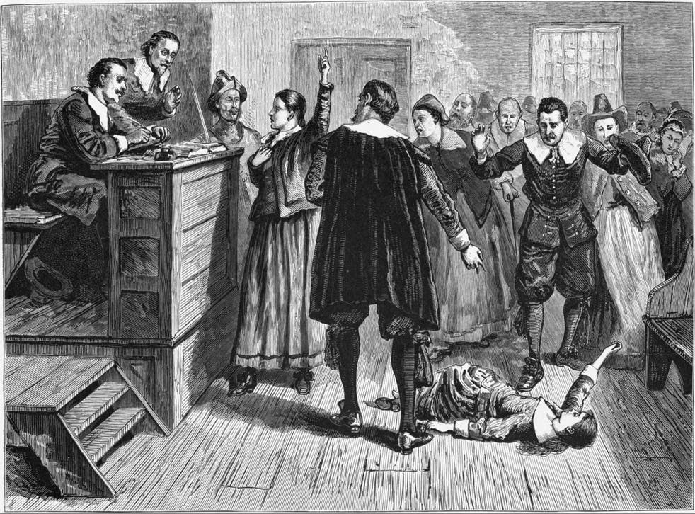 19 people were accused of witchcraft