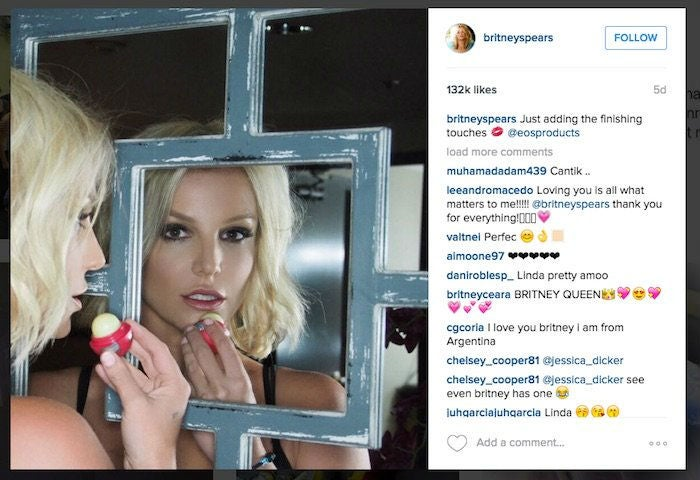 Eos lip balm - beloved by Kim and Britney - sued 'for