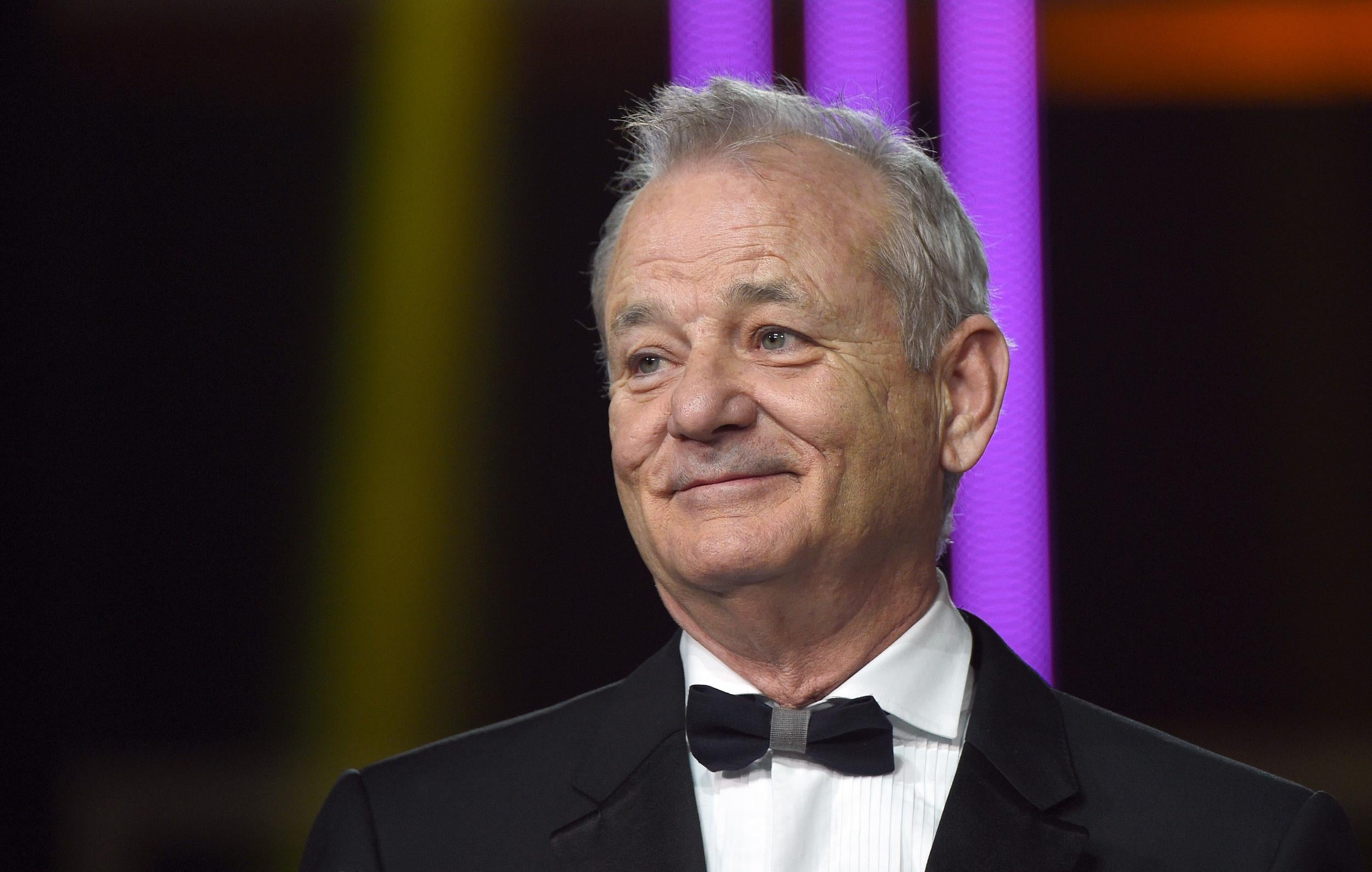 Bill Murray Takes Stingy Fan To Task While Exchanging Puerto Rico