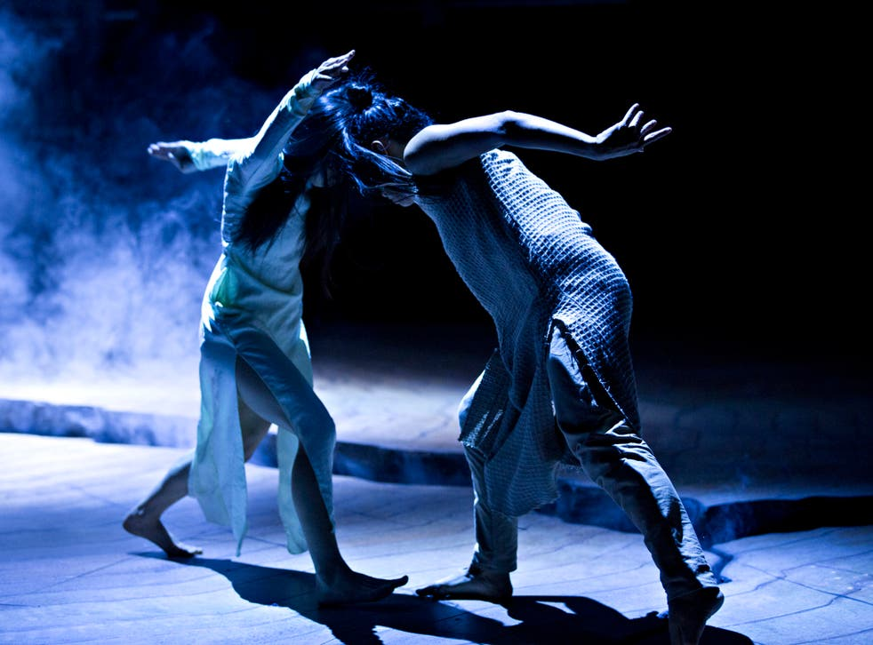 Ching-Ying Chien and Christine Joy Ritter in Akram Khan's Until the Lions at the Roundhouse