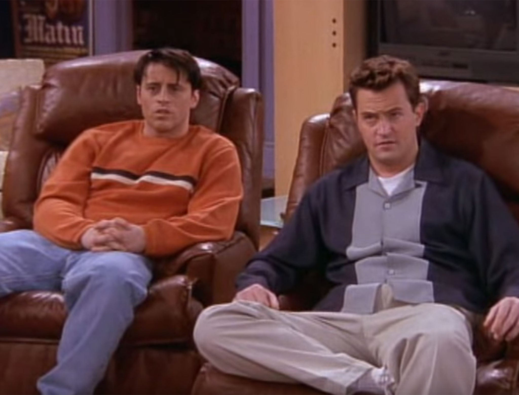 Friends On Netflix 21 Of Chandler S Best One Liners The Independent