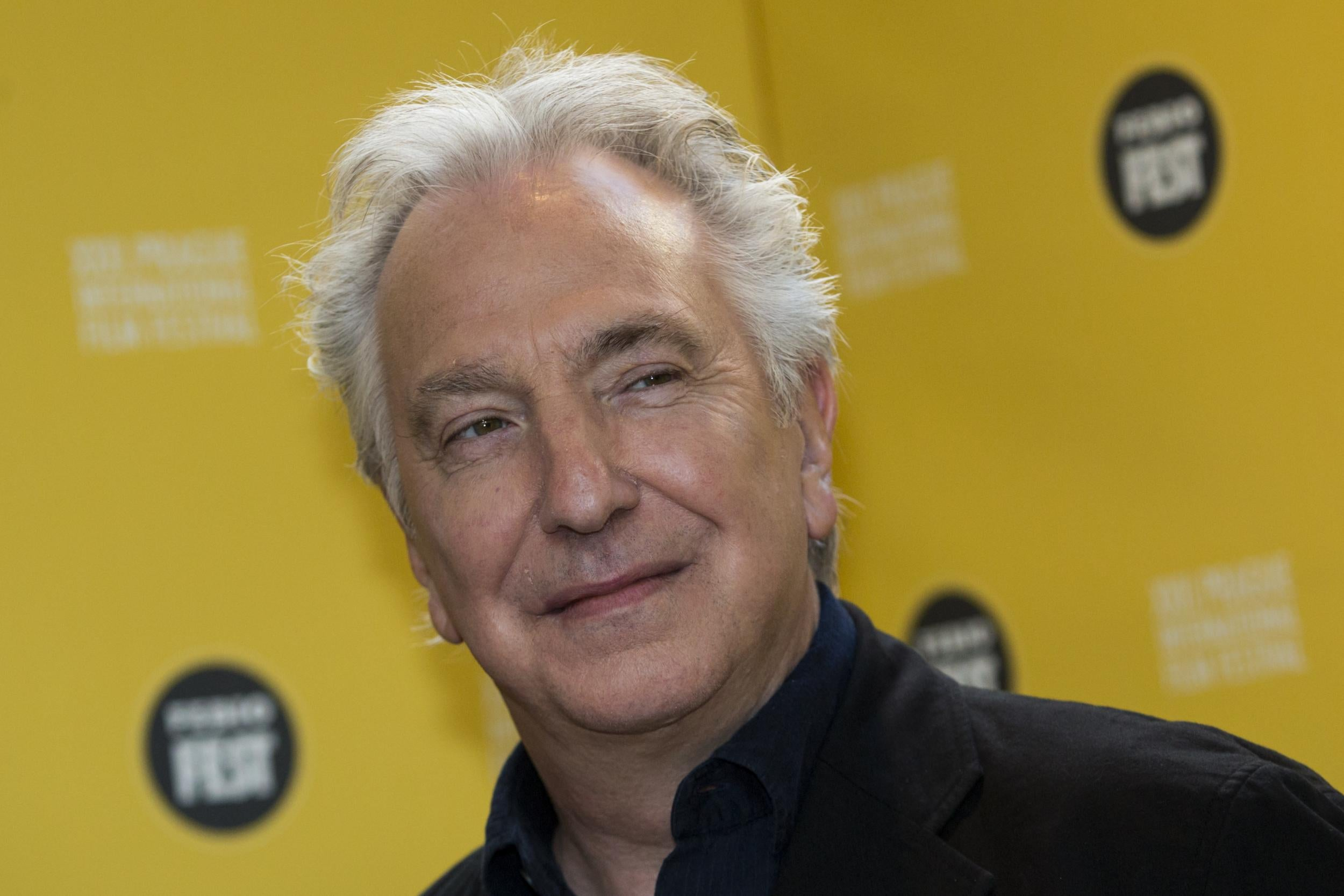 Alan Rickman: the cause of the death of the actor