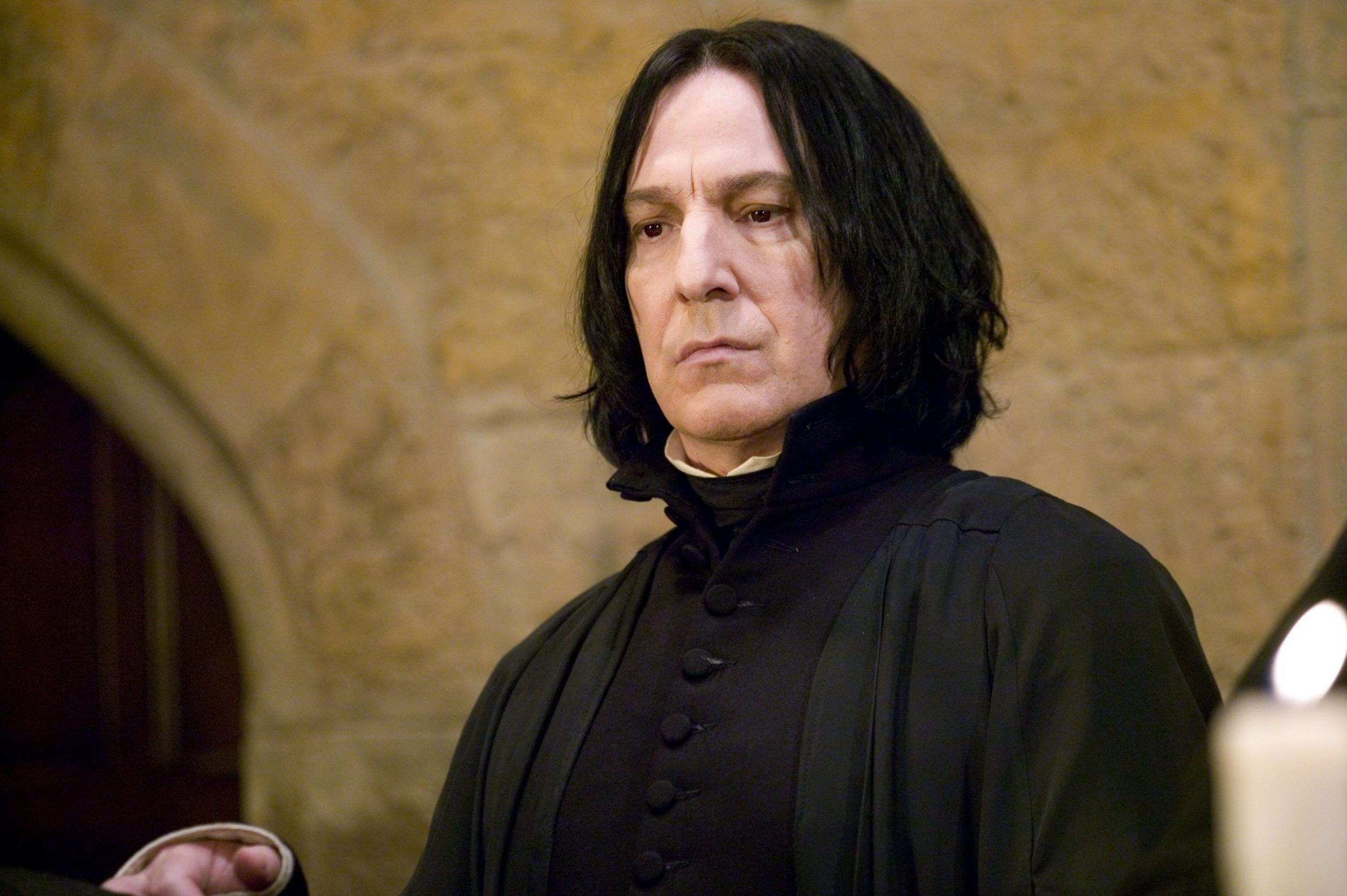 Alan Rickman dead: How the late actor hid Professor Snape's story arc from everyone | The Independent | The Independent