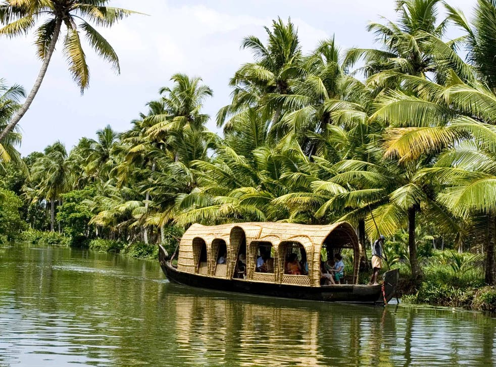 Catch a drift: floating along the backwaters is a quintessential Keralan experience