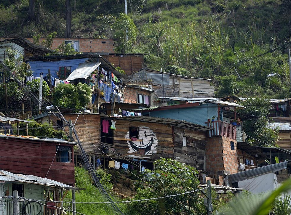 Colombia had the highest level of income inequality