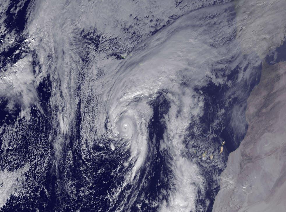 Esta fue la novena tormenta con nombre en impactar en Estados Unidos durante 2020