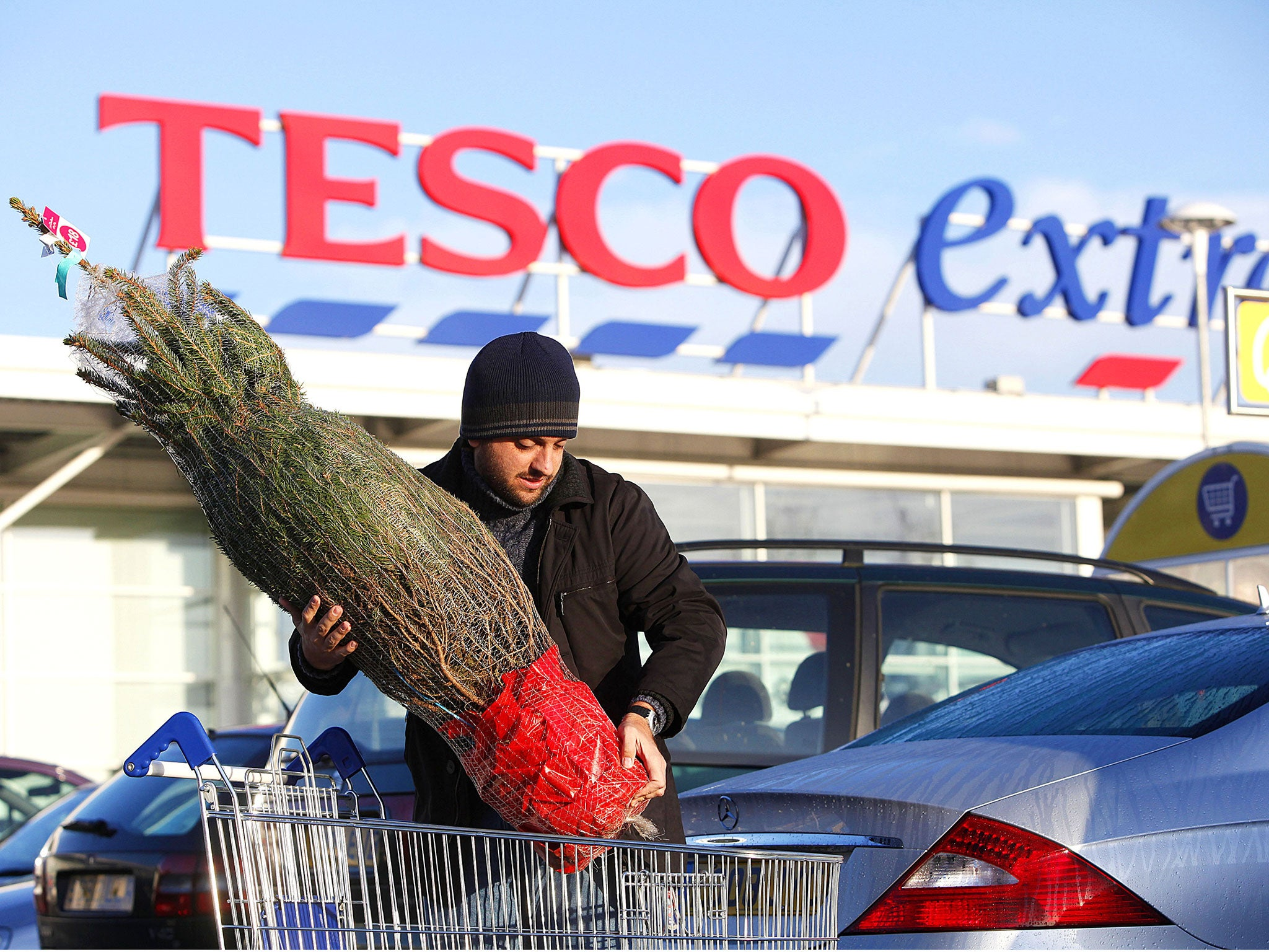 Tesco Turn-up As Sales Climb Over Christmas