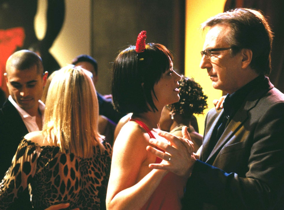 Rickman was one of the best things in Richard Curtis's over-egged Love Actually