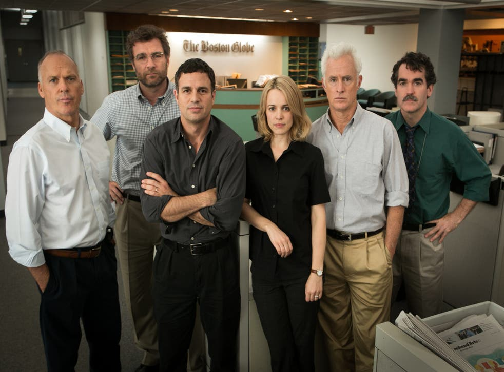 Spotlight won Best Picture and Best Original Screenplay at the Oscars ceremony on Sunday 28 February