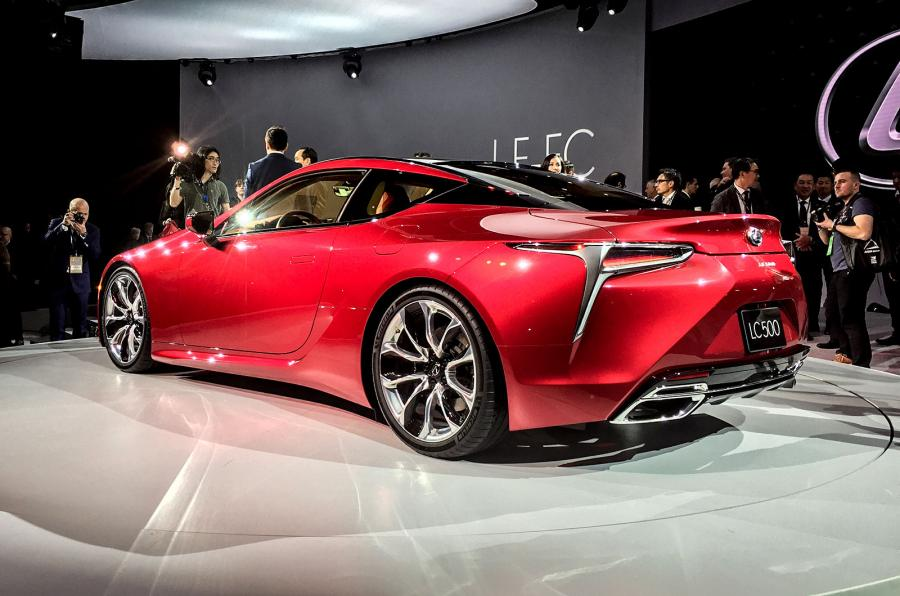 lexus lc 500 sports coupe revealed brand pursues sportier image the independent. Black Bedroom Furniture Sets. Home Design Ideas