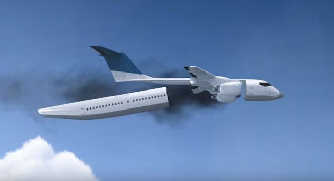 Detachable cabin invented to save lives during plane crashes | The ...