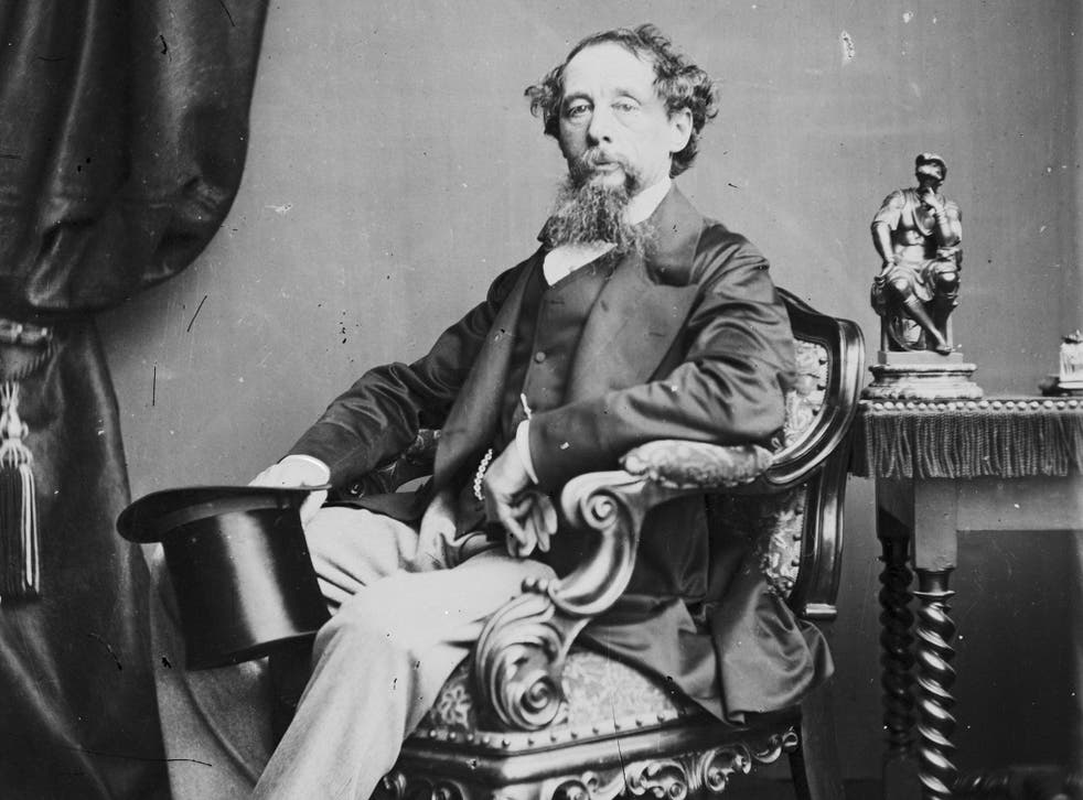 Charles Dickens is among those  with articles discovered
