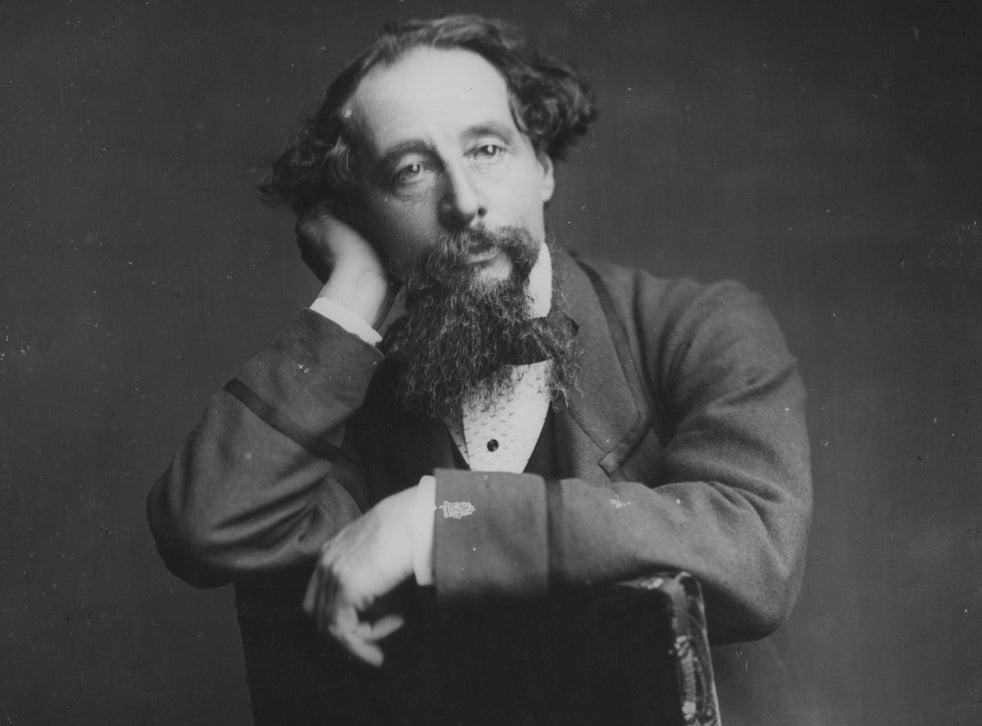 English writer Charles Dickens (1812 - 1870), from the original wet-plate negative by Herbert Watkins