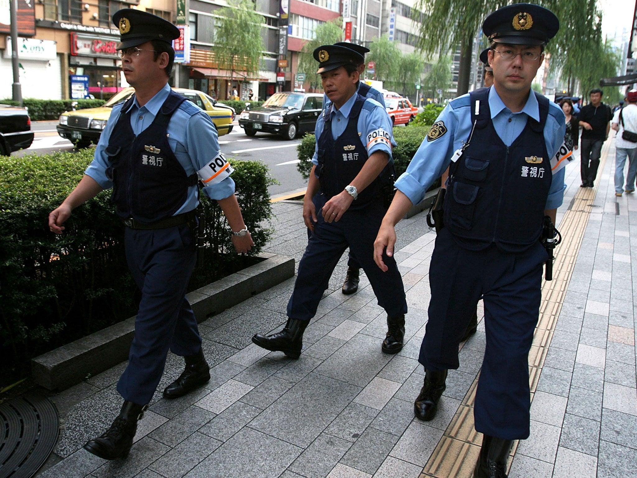 Resultado de imagem para japanese police