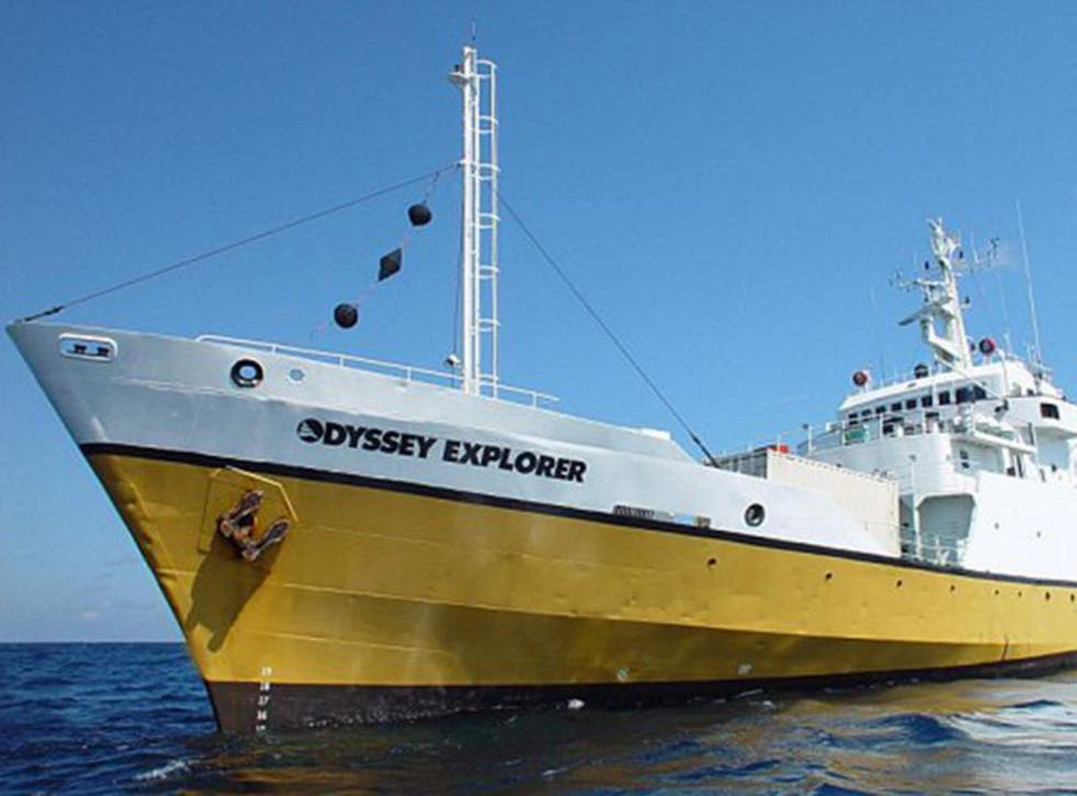 The owners of the Odyssey Explorer deny that its ship has been operating illegally