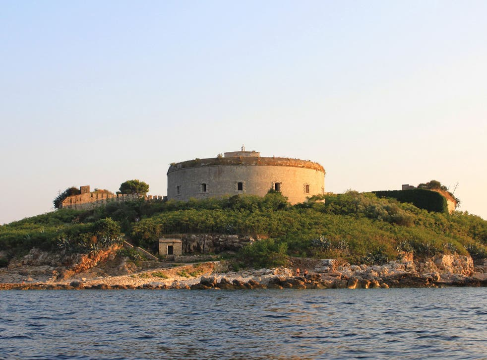 Fort Mamula was used as a concentration camp during the Italian occupation of Montenegro in the Second World War
